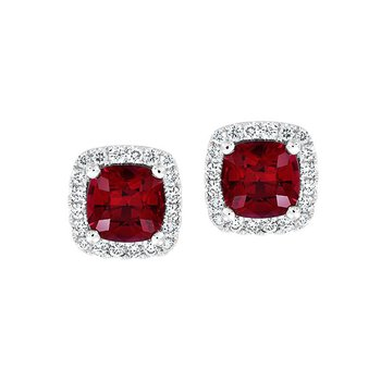 Ruby Earrings-CE4298WRU