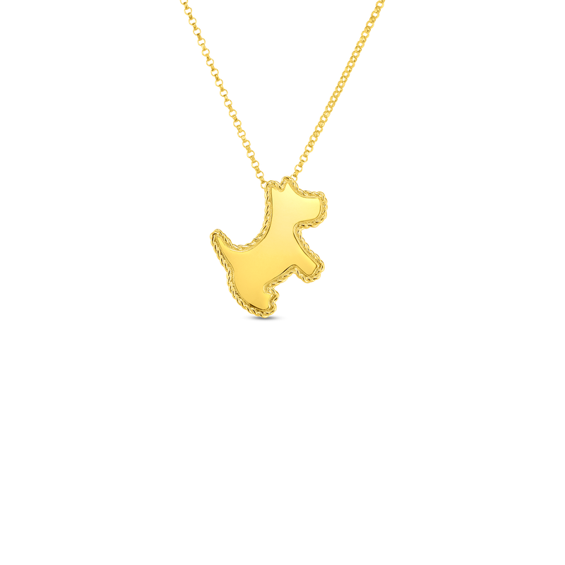 Roberto Coin 18Kt Gold Scottie Dog Pendant