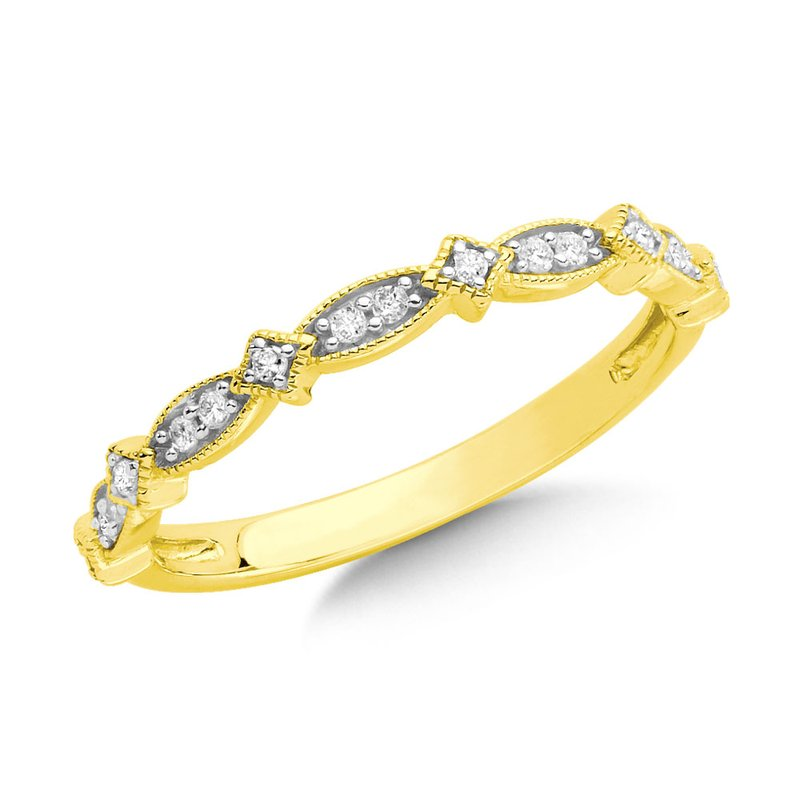 SDC Creations Channel set Diamond Hoops in 14k Yellow Gold (1/2 ct. tw.) GH/SI1-SI2