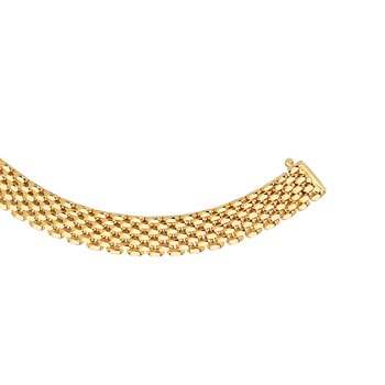 14K Gold 9mm Panther Chain