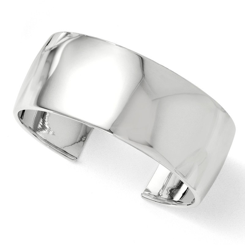 Leslie's Leslie's Sterling Silver Polished Slip-on Bangle