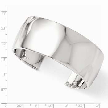 Leslie's Sterling Silver Polished Slip-on Bangle