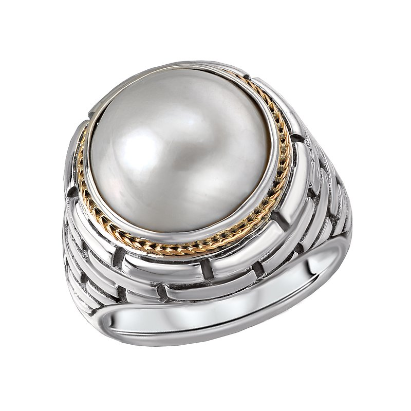 Eleganza Ladies Fashion Pearl Ring