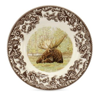 Majestic Moose Bread and Butter Plate