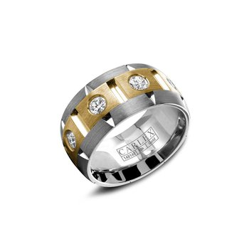 Carlex Generation 1 Ladies Fashion Ring WB-9464YW-S6