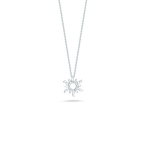 Roberto Coin 18Kt Gold Diamond Starburst Pendant