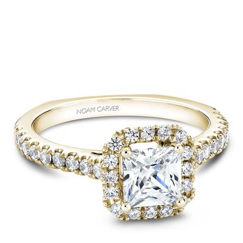 Noam Carver Fancy Engagement Ring B034-02YA