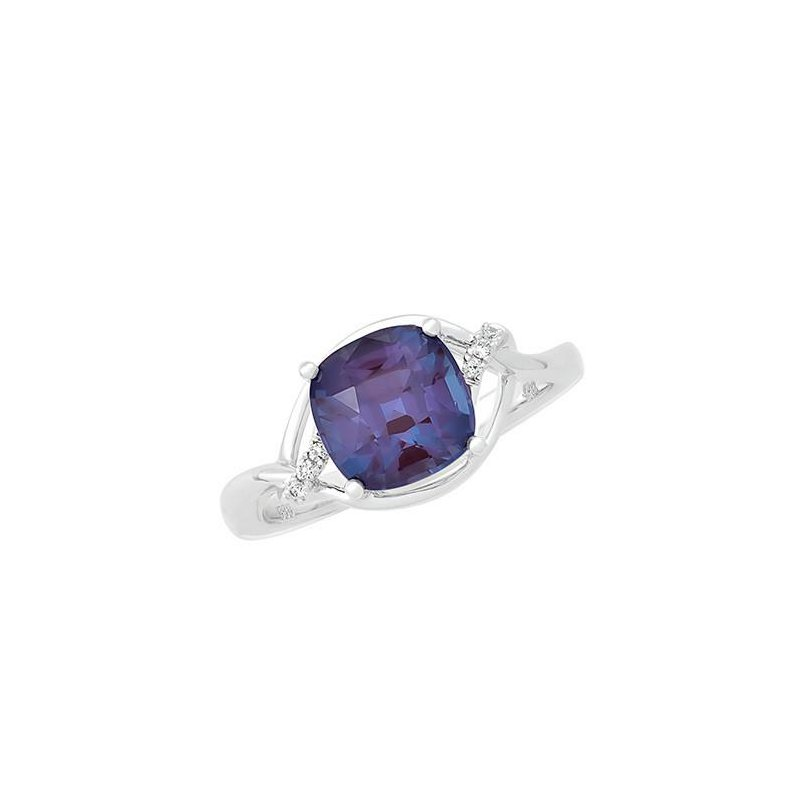 Chatham Alexandrite Ring-CR11739WAL