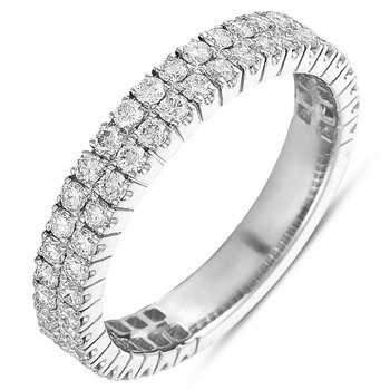 Diamond Band Two Row