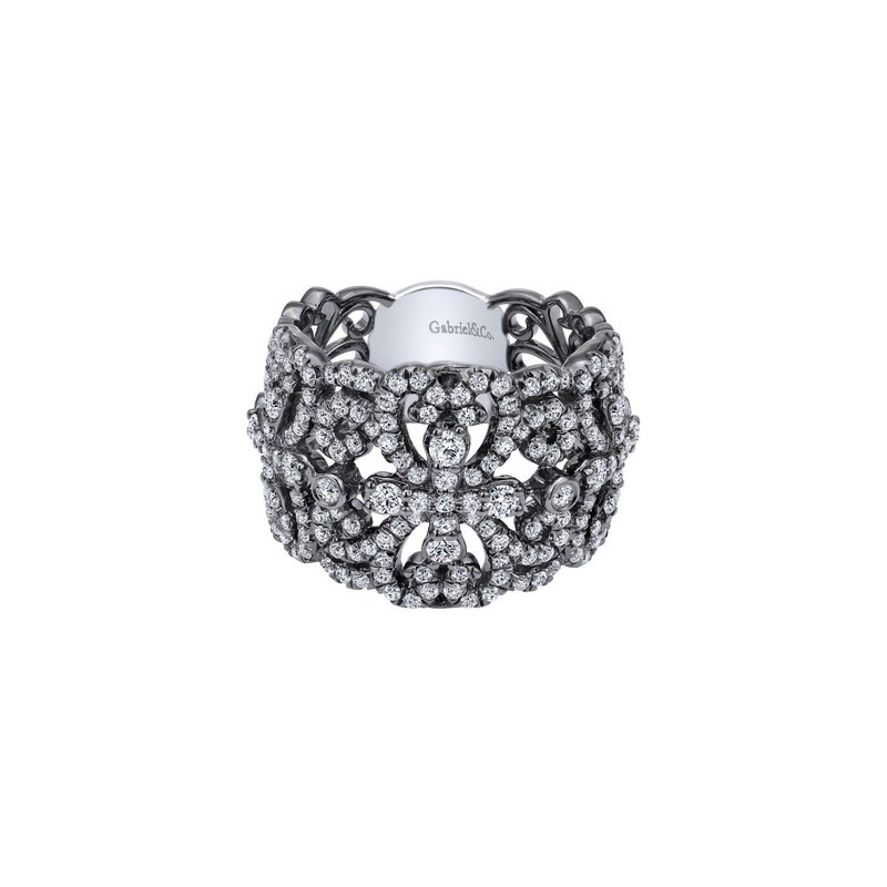 Amavida White Alloy Cubic Zirconia Fashion Ladies Ring