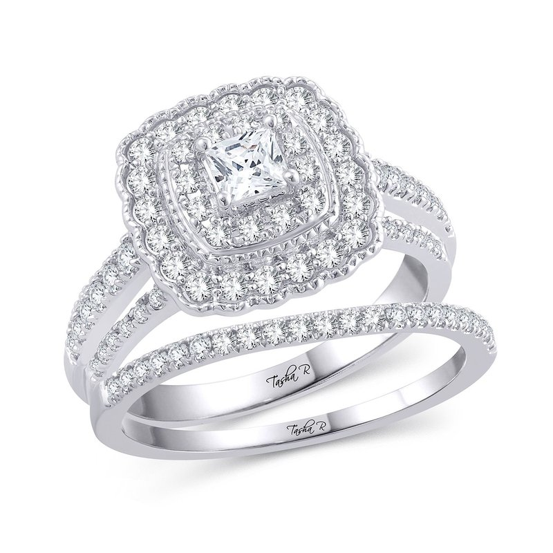 Low Cost Luxury 14K 1.00Ct Diam Bridal Ring