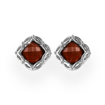 Lido Cushion Stud Earring