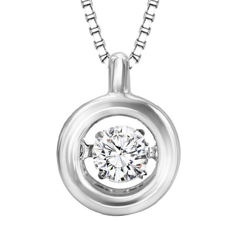 Rhythm of Love 14K Diamond Rhythm Of Love Pendant