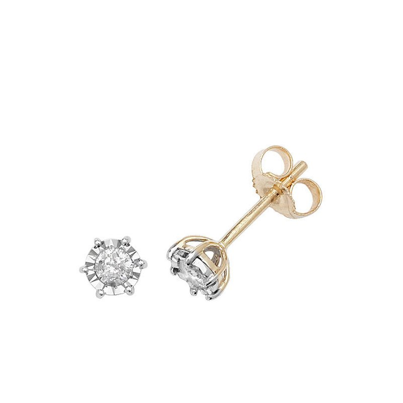 Treasure Diamond Illusion Plate Studs
