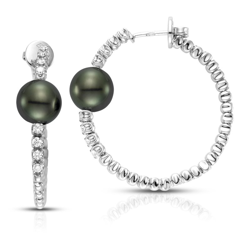 Mastoloni Pearls Amalfi Hoop Earrings