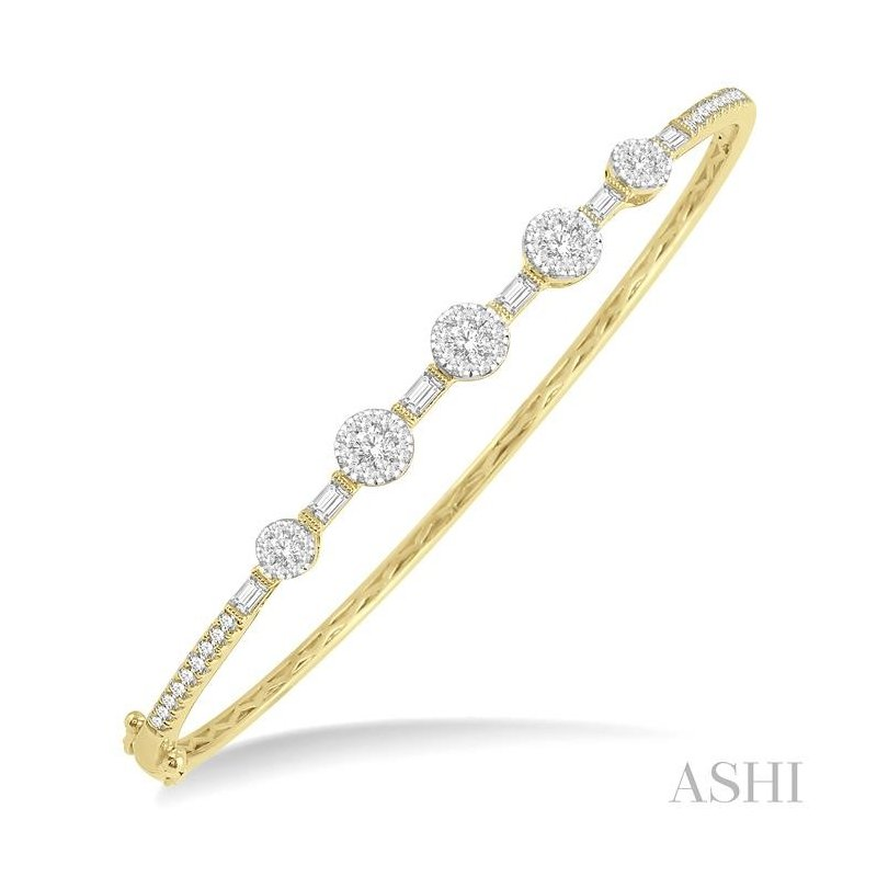 Crocker's Collection lovebright diamond bangle