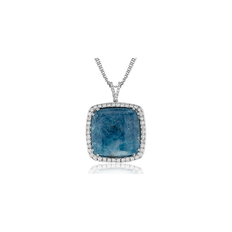 Simon G LP4384-A COLOR PENDANT