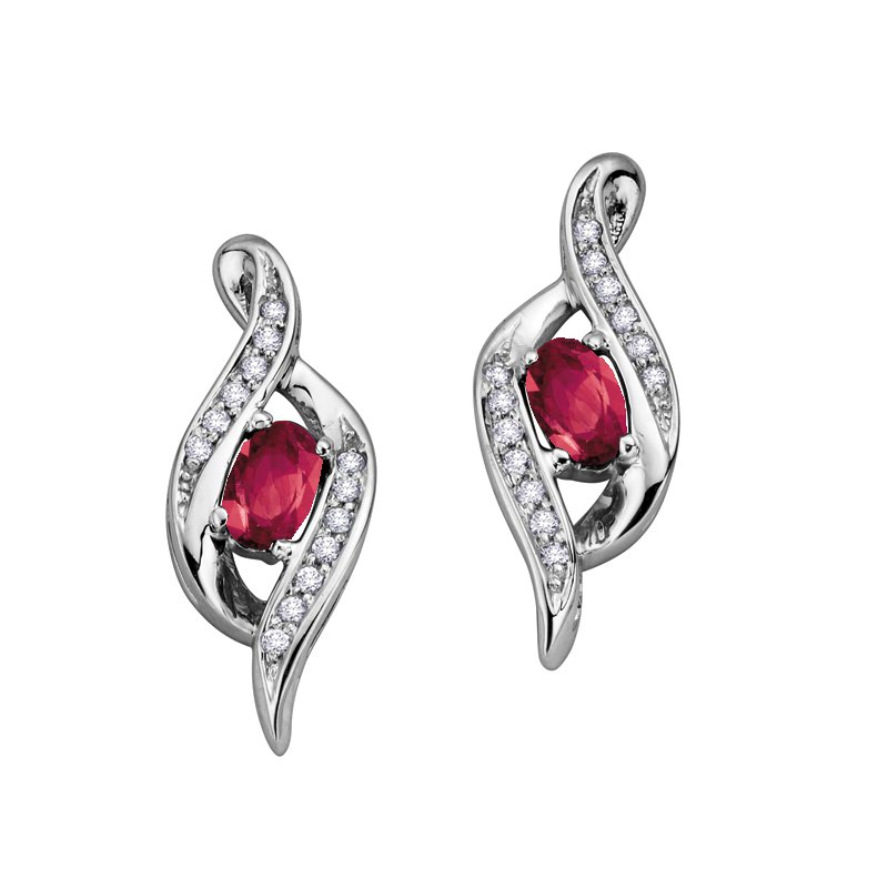 Lasting Treasures™ Ruby Earrings