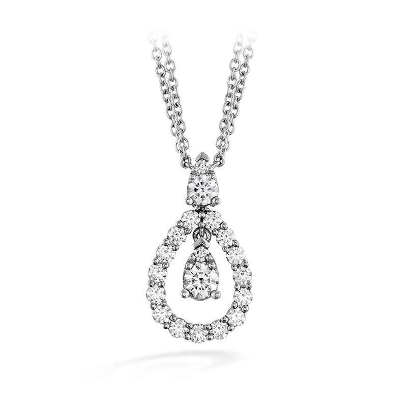 Hearts on Fire 0.8 ctw. Aerial Diamond Drop Necklace
