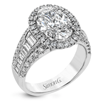 Simon G LR1164-OV ENGAGEMENT RING