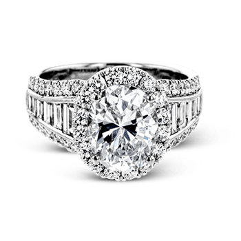 LR1164-OV ENGAGEMENT RING