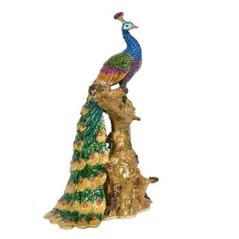 Large Peacock on Branch