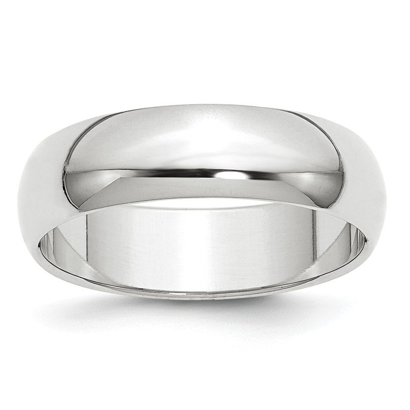 Lester Martin Online Collection 10KW 6mm Half Round Band Size 10