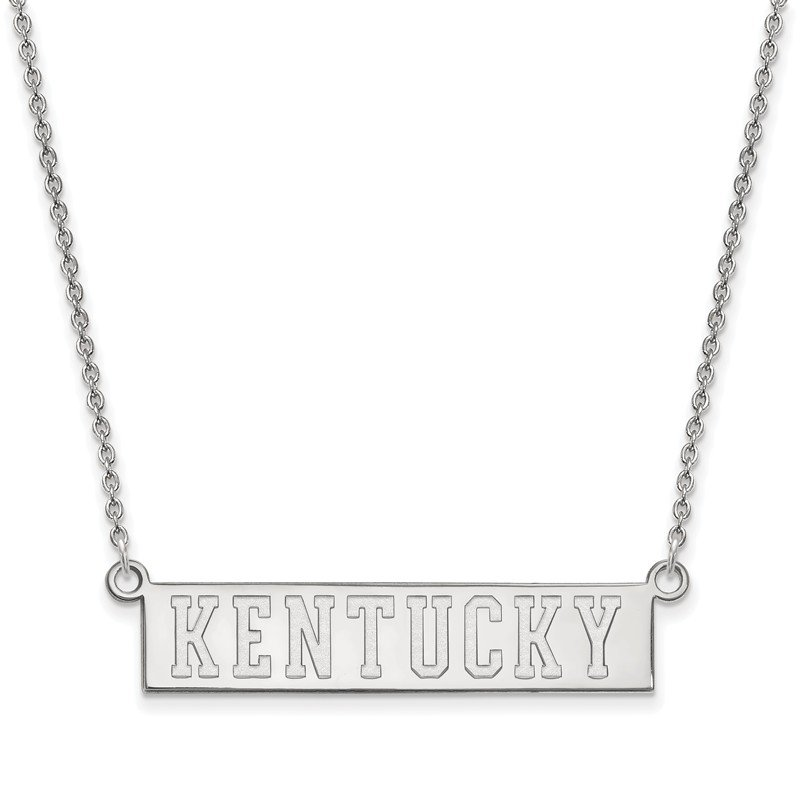 NCAA Sterling Silver University of Kentucky NCAA Necklace