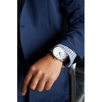 Tradition Men's Silver Quartz Classic watch