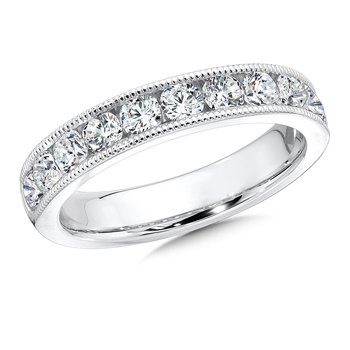 Diamond Annivarsary Band in 14K White Gold