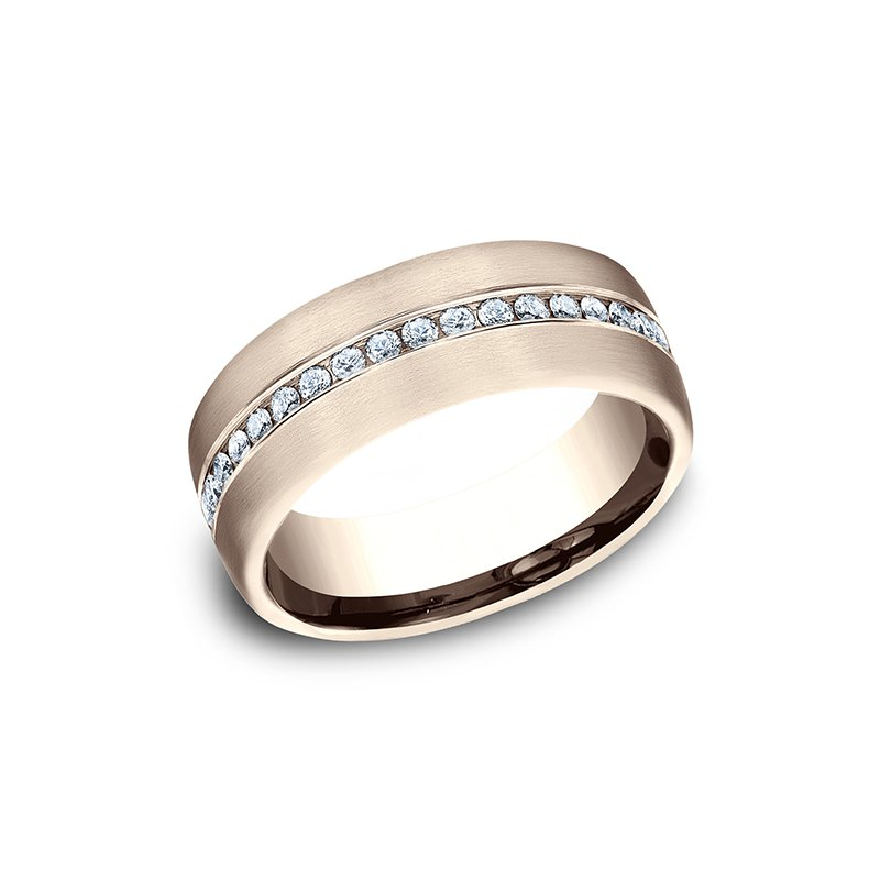 Benchmark Diamond Wedding Ring