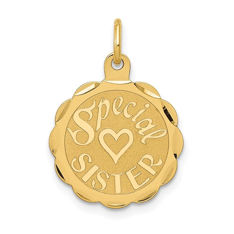 J.F. Kruse Signature Collection 14K SPECIAL SISTER Charm
