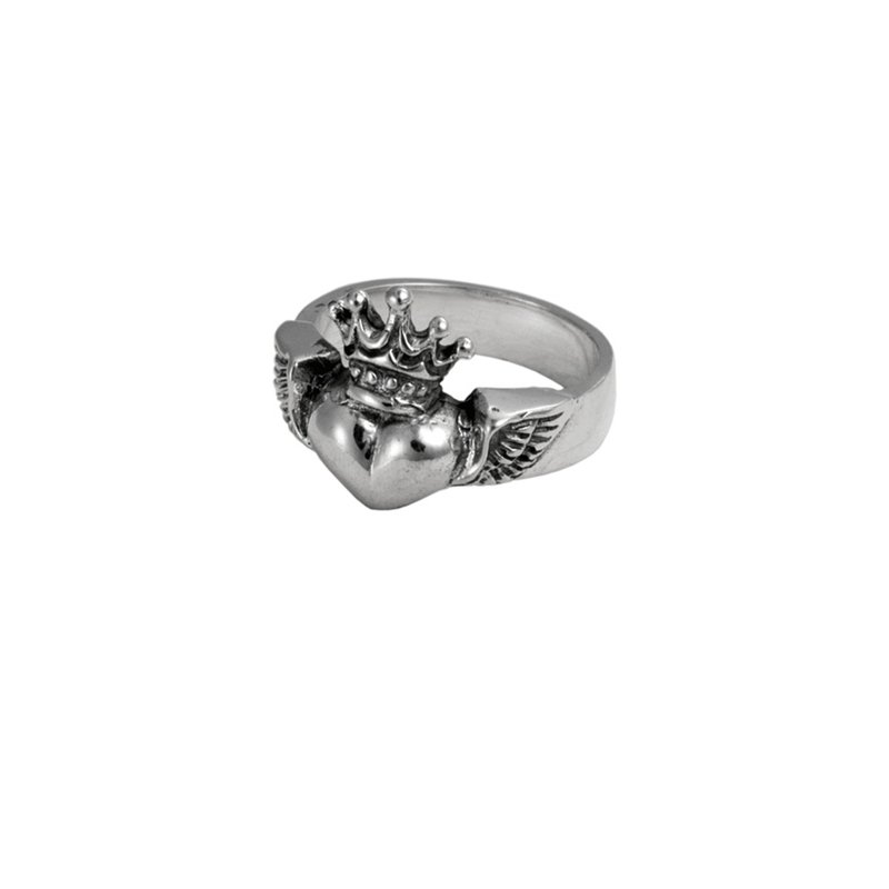 King Baby Winged Heart Ring