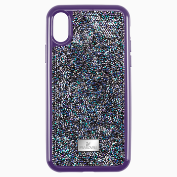 Glam Rock Smartphone case with Bumper, iPhone® X/XS, Purple