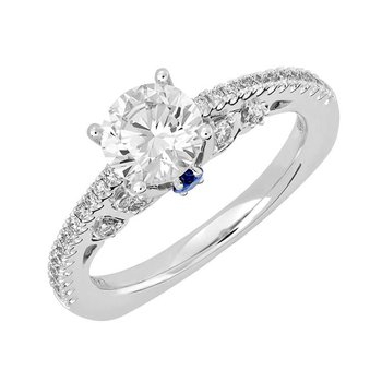 Bridal Ring-RE13282W10R