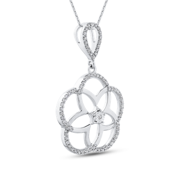 1/4 Ct Diamond Fashion Pendant with Chain