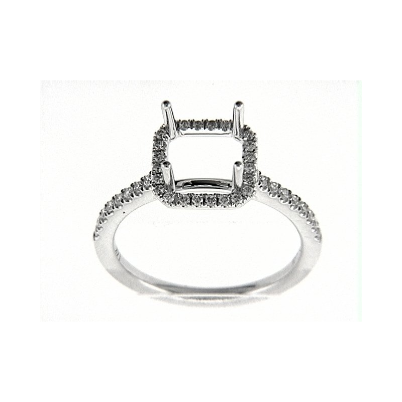 Venetti 14K W RING 42RD 0.30CT