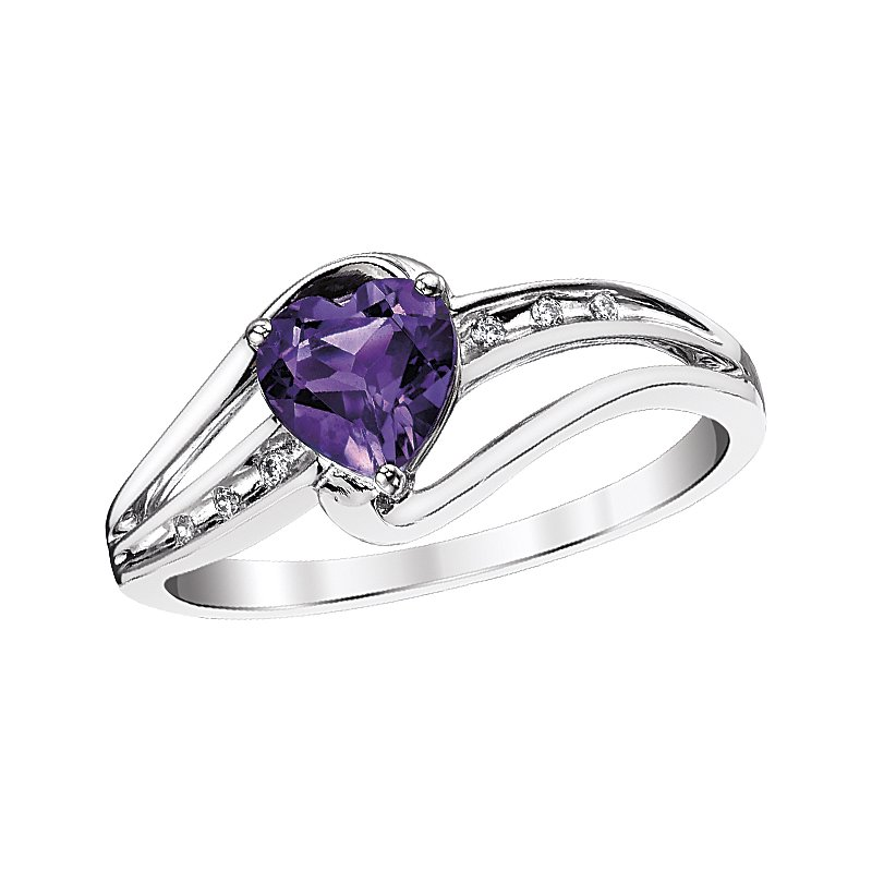 Simmons & Clark Two Hearts Collection Ring