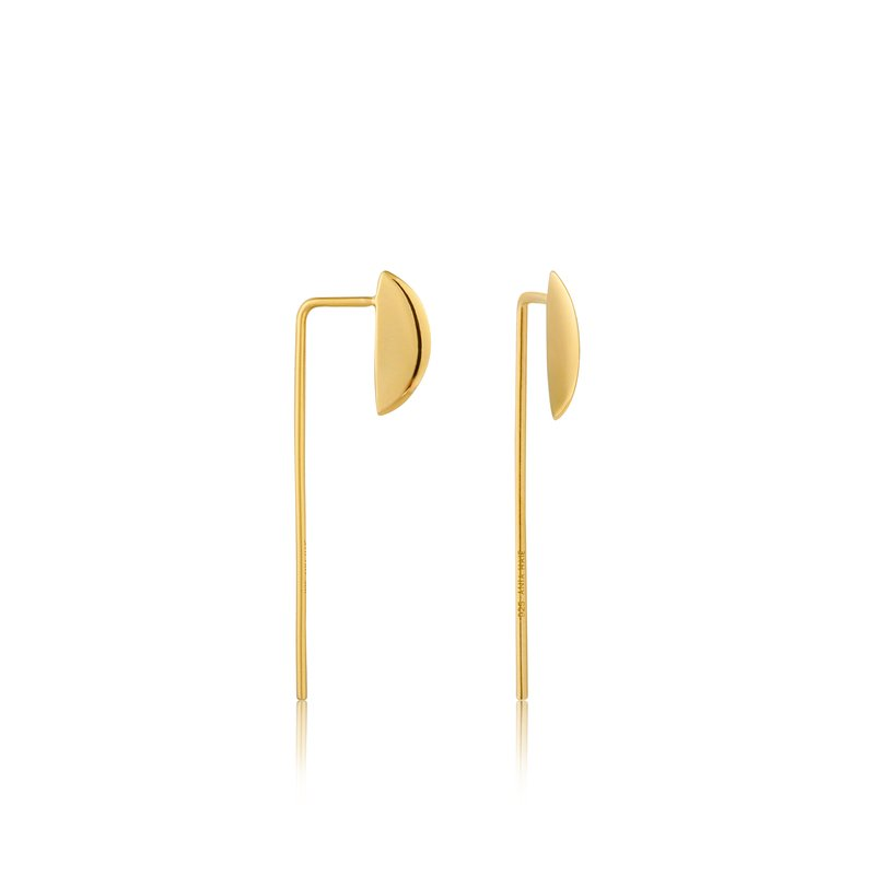 Ania Haie Geometry Solid Drop Earrings