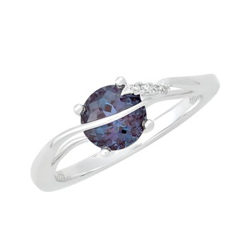 Alexandrite Ring-CR11751WAL