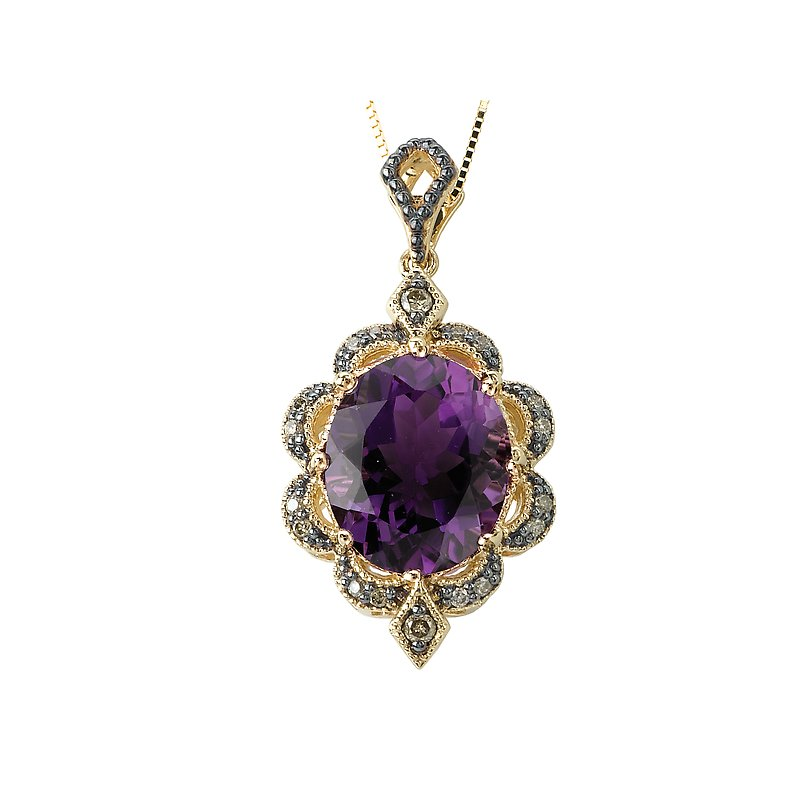 Tesoro Ladies Gemstone Pendant