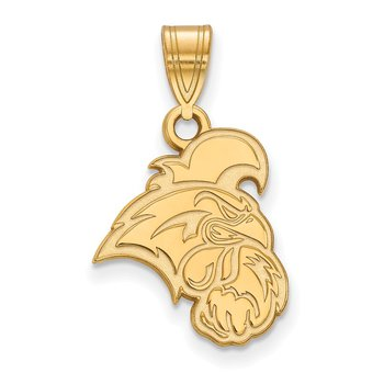 Gold Coastal Carolina University NCAA Pendant