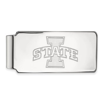 Gold Iowa State University NCAA Money Clip
