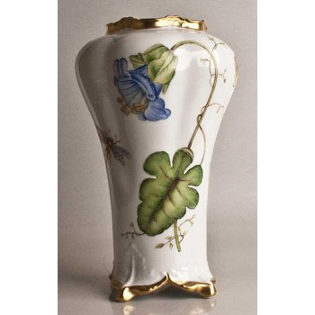 Blue Flower Antique Vase