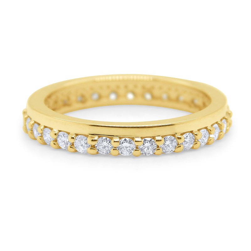 KC Designs 14k Gold and Diamond Stack Ring
