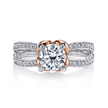 MARS R-256 Diamond Engagement Ring 0.20 ctw