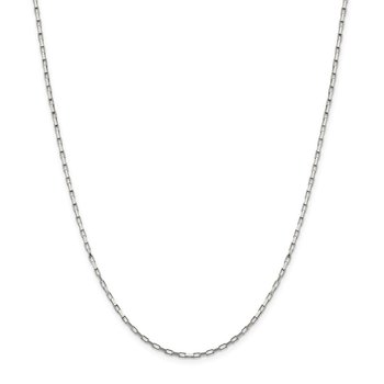 Sterling Silver 1.65mm Elongated Box Chain