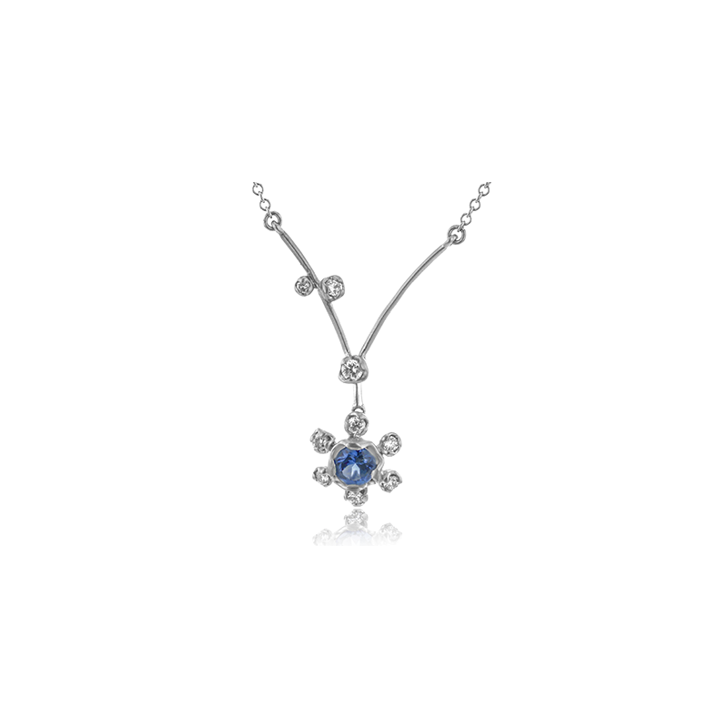 Simon G LP4596 COLOR PENDANT