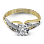 Zeghani ZR522 ENGAGEMENT RING