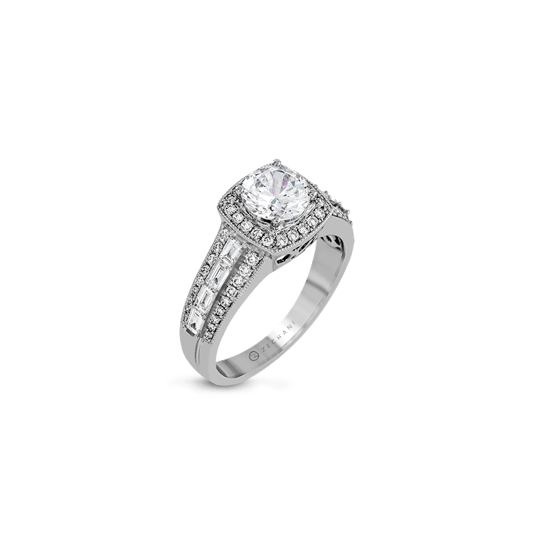 Zeghani ZR1172-A ENGAGEMENT RING